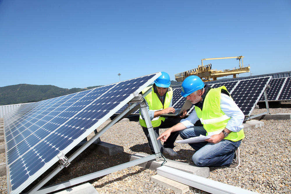Commercial PV solar energy contractor