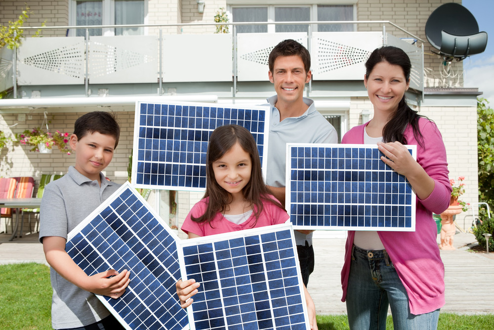 Getting renewable energy for your home takes just three simple steps.