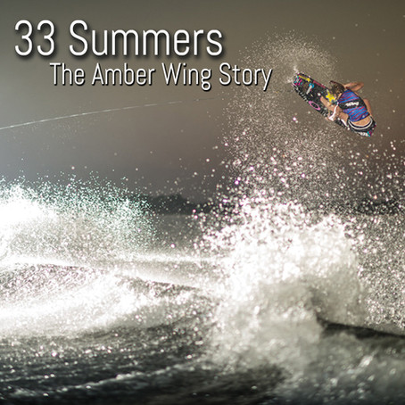 Thirty Three Summers. The Amber Wing Story by Andrea Gaytan.