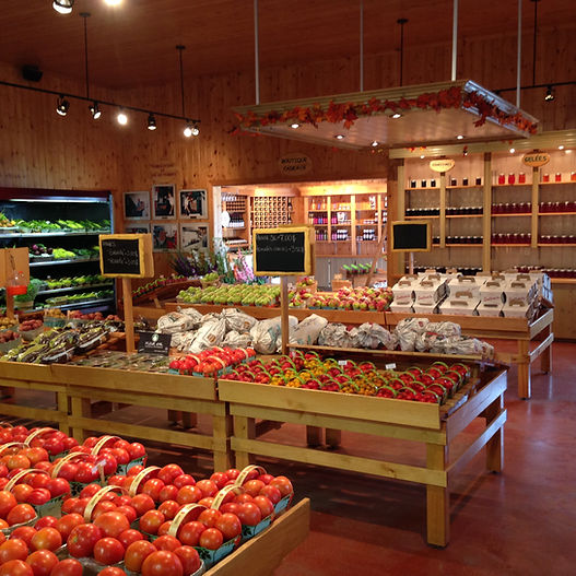 Fruits et légumes de l'Île d'Orléans