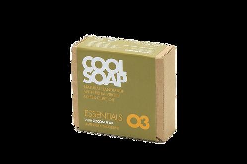 Cool Soap 03 - lavender & tangerine