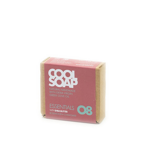 Cool soap 08 - Rosewood & chamomile