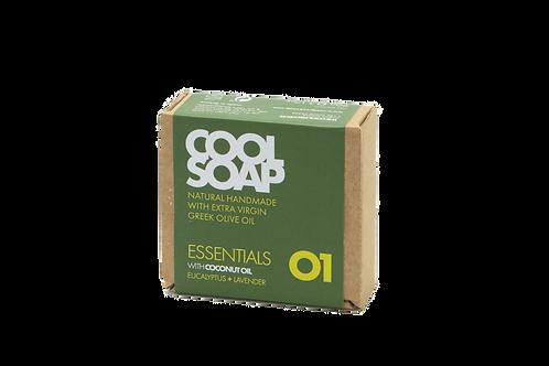 Cool Soap 01 - Eucalyptus & lavender