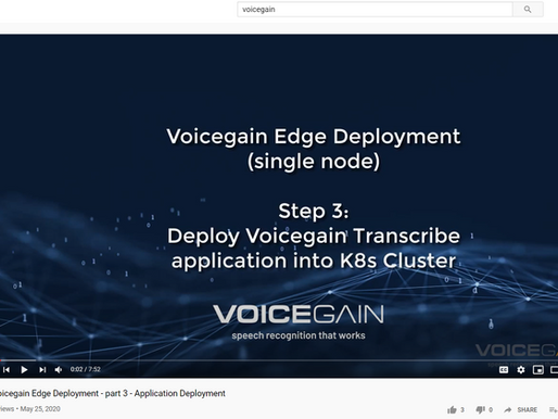 Video Demo of Edge Deployment