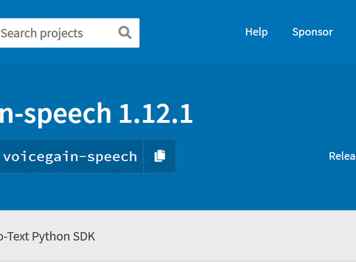 Python SDK Available