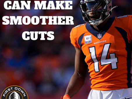 HOW WRs CAN MAKE SMOOTHER CUTS