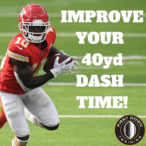 28 Day Speed Workout Plan