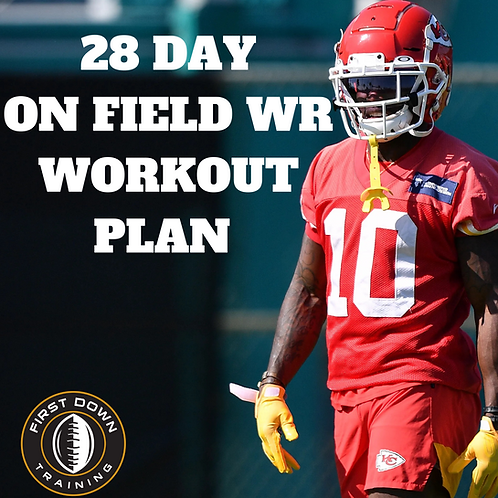 28 Day ON THE FIELD WR Workout Plan