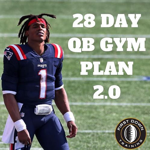 28 Day QB Workout Plan 2.0
