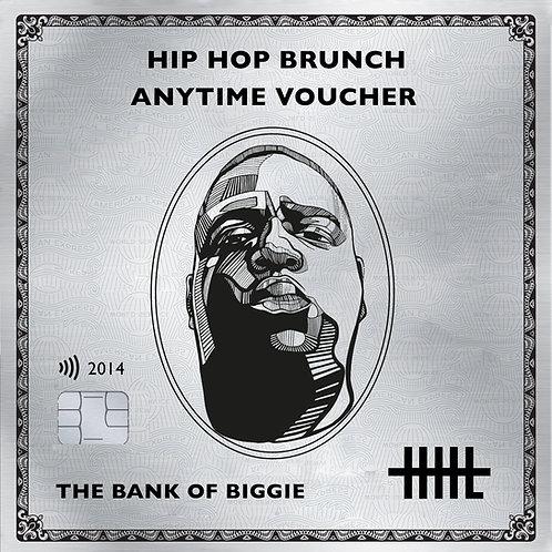 Hip Hop Brunch Anytime Voucher