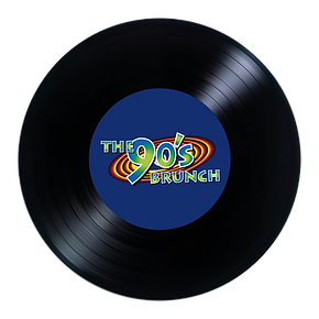 90's Brunch Logo Colour Circle record.pn