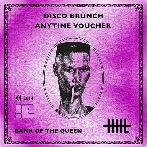 Disco Brunch Anytime Voucher