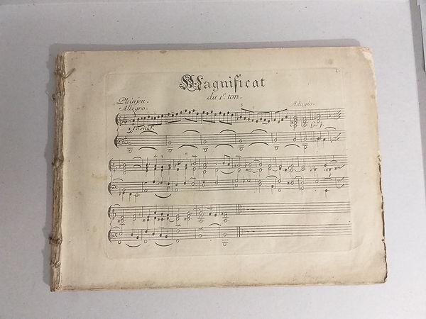 Michel Corrett, 1er Livre d'orgue, 1737,