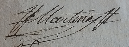 Martin Martinet, lieutenant général