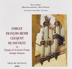 Henri Delorme joue l'orgue de Souvigny.j
