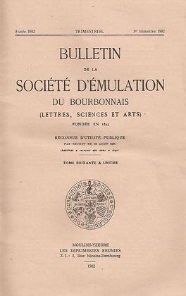 Bulletin de la société d'émulation, 1982