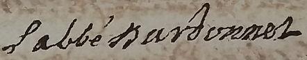Gaspard Bardonnet, prieur commendataie