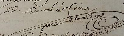 Dom François de Lacroix, prieur claustral