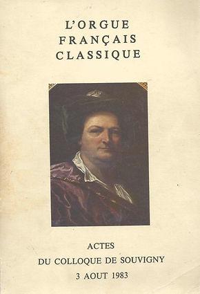 Actes du colloque de Souvigny