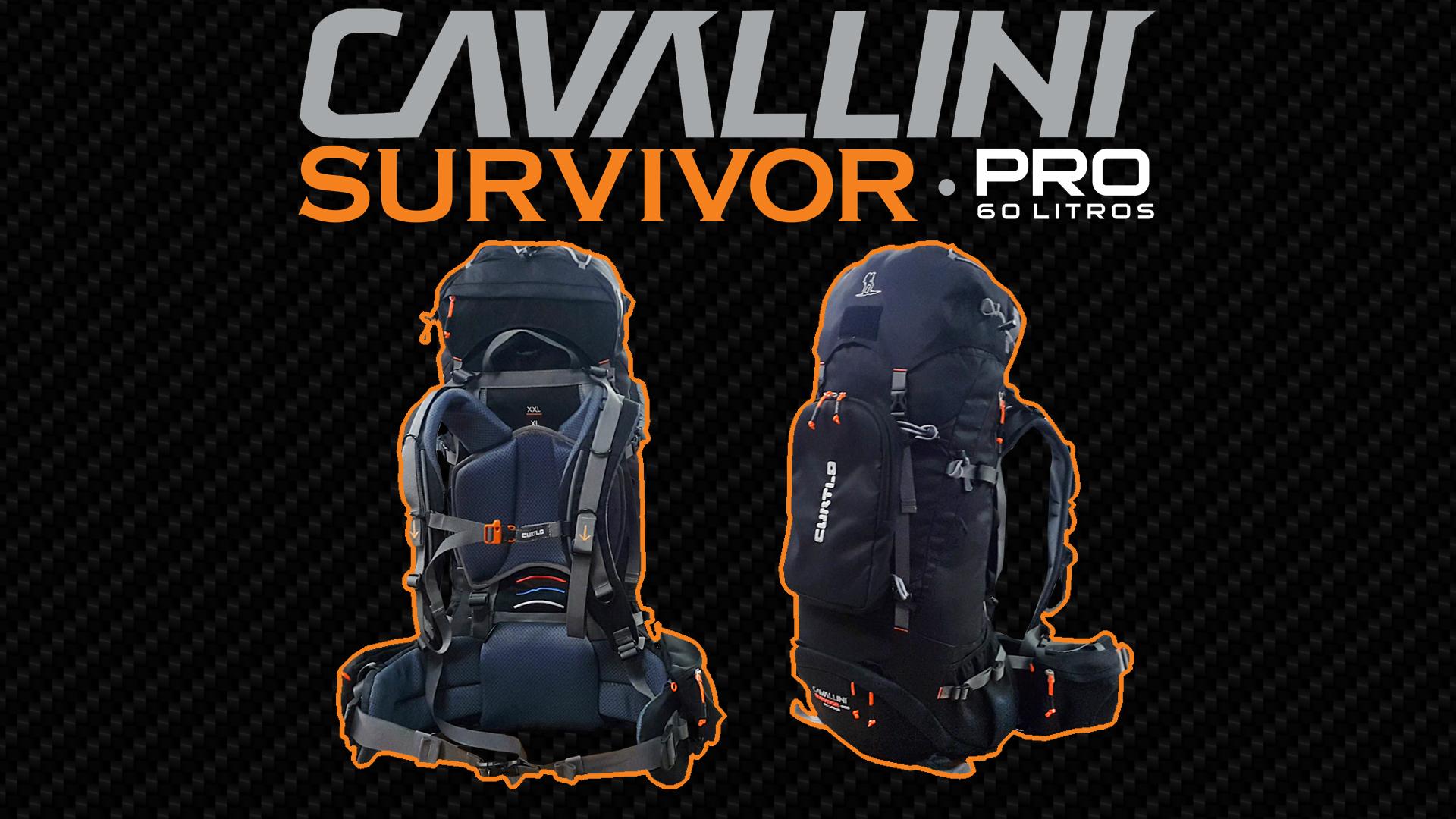 Mochila Cavallini Survivor Pro