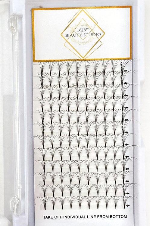 Hand-made 6D Volume Eyelash Trays