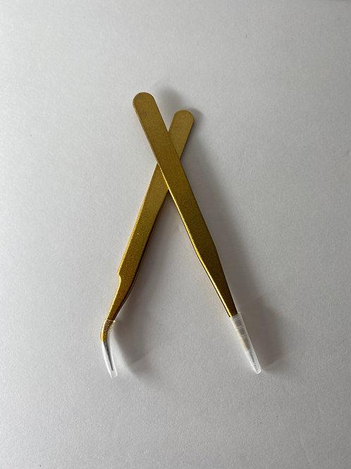 Gold Tweezers
