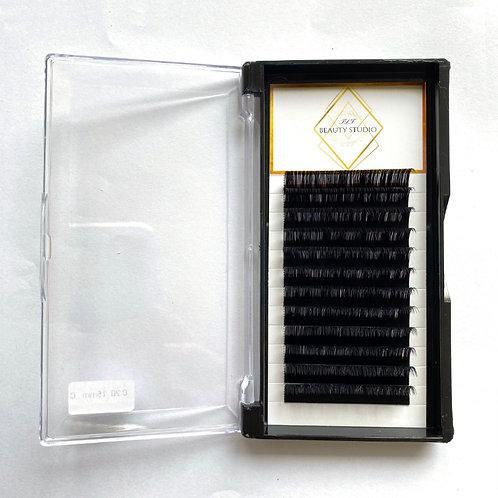 Eyelash Extension Tray D Curl 8-15mm