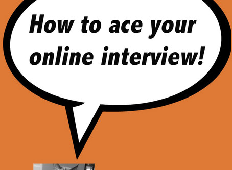 Fear Not The Online Interview
