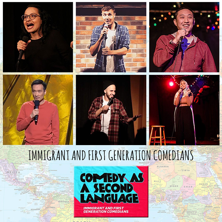 Immigrant Stories - Comedy as a Second Language