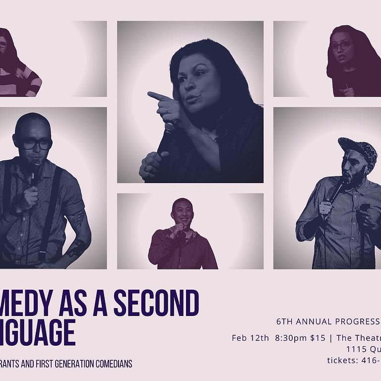 Comedy as a Second Language @ The Progress Festival