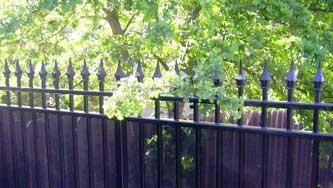 Iron Verses Wood Fences