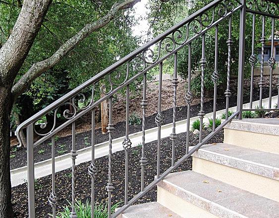 Ornate Iron Railing