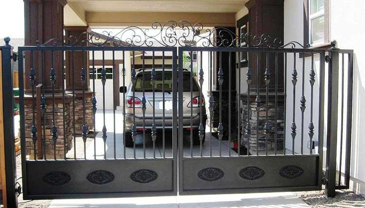 Ornate Driveway Gate