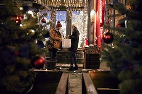Покупки на Рождество
