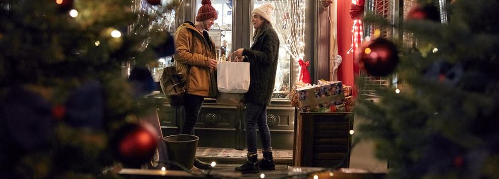 Shopping pour Noël