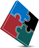 Strategic Planning Puzzle Piece (Connected Pieces of Puzzle)