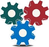 Business Planning Puzzle Piece (Gears)