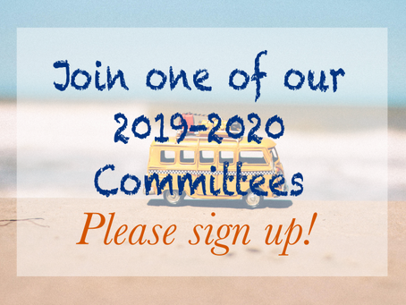 Sign up for a committee!
