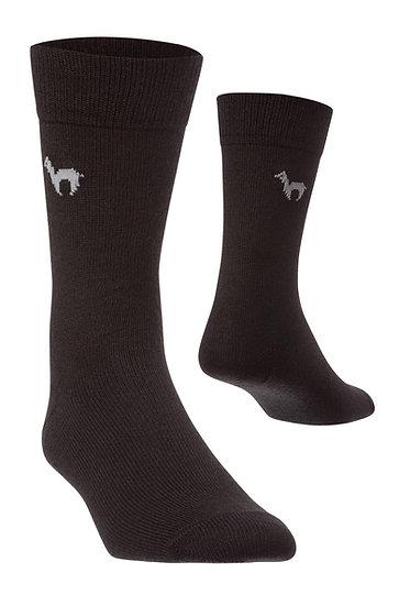 Business- Socken in schwarz (Einzelpaar)