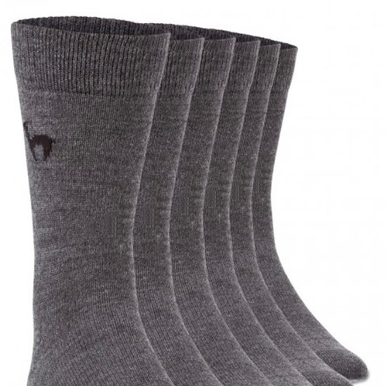 Business- Socken in grau (Einzelpaar)