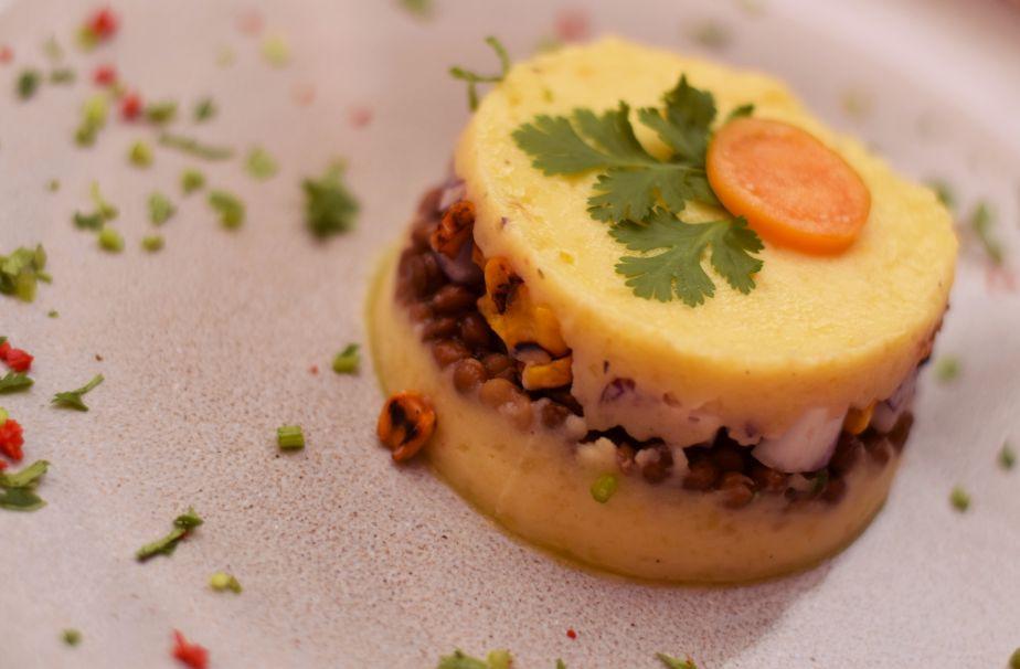 Forellen-Ceviche im Erdäpfelmantel