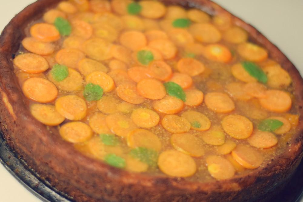 Physalis-Cheesecake