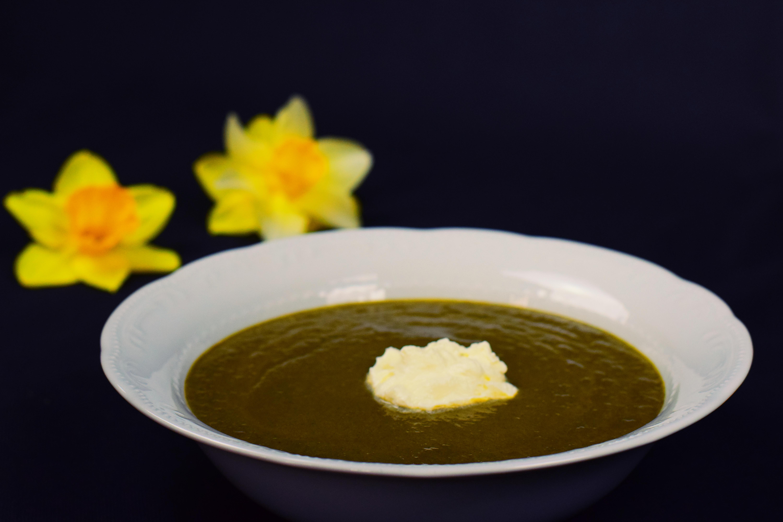 Bärlauchchilicremesuppe