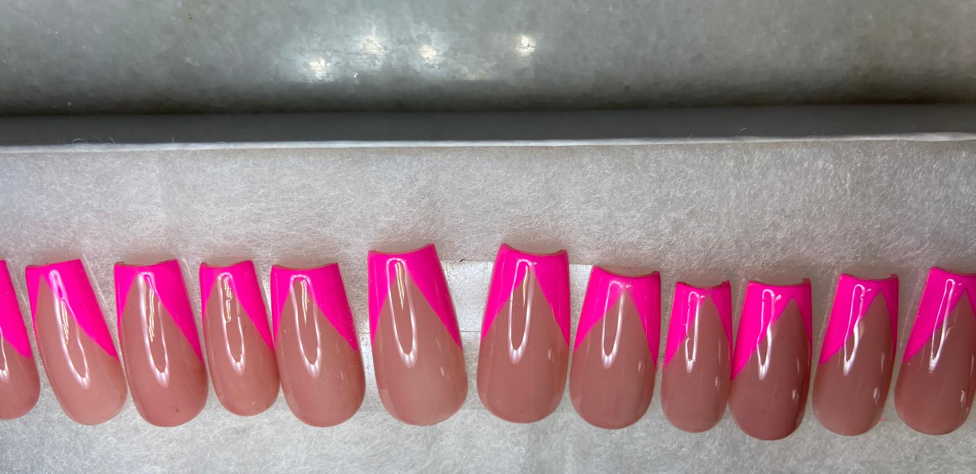 Hot Pink V French