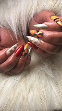 African Inspired Nail Artt