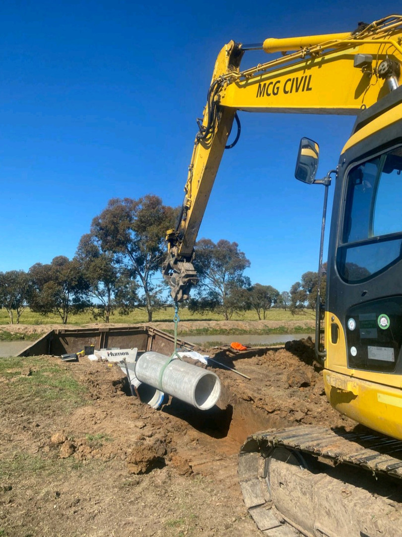 Irrigation Pipeline Installation