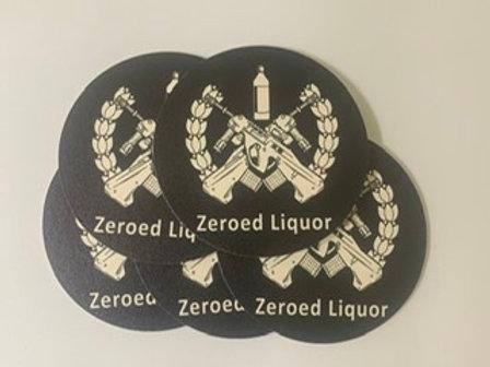 Zeroed Coaster 5 pack