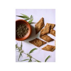 KUCHNIA KONOPNA Jak zrobić ziołowe krakersy z dodatkiem proszku konopnego?