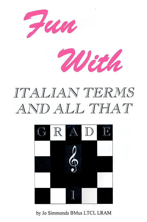 Fun with Italian Terms and all That