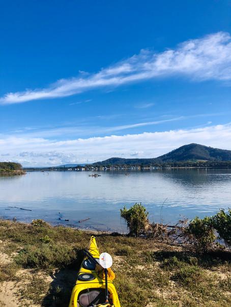 Kayaking Comerong Island - Culburra Beach to Shoalhaven Heads